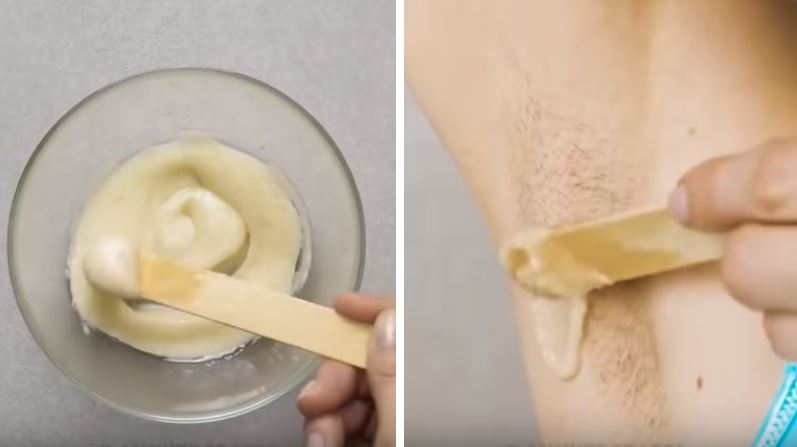 crème dépilatoire maison