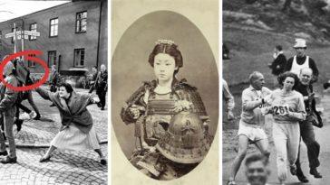 femmes fortes qui ont changé l'Histoire