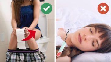 hygiène intime : les gestes à ne pas faire