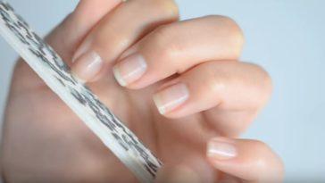 astuces mains et ongles lime à ongles éclatants de santé