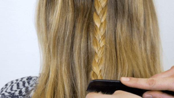 coiffure sans élastique