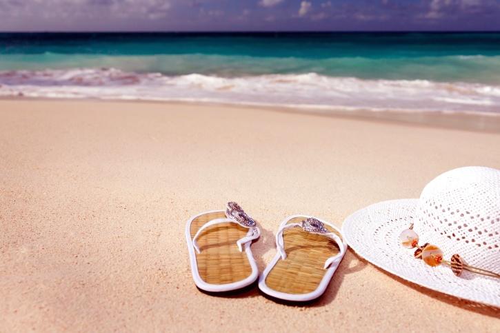 tongs vacances