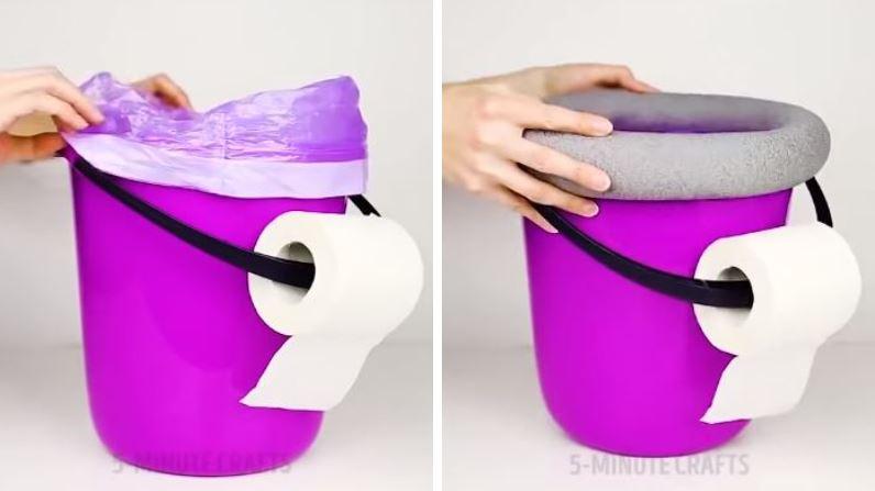 conseils poubelle papier wc camping