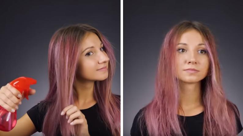 cheveux rebelles