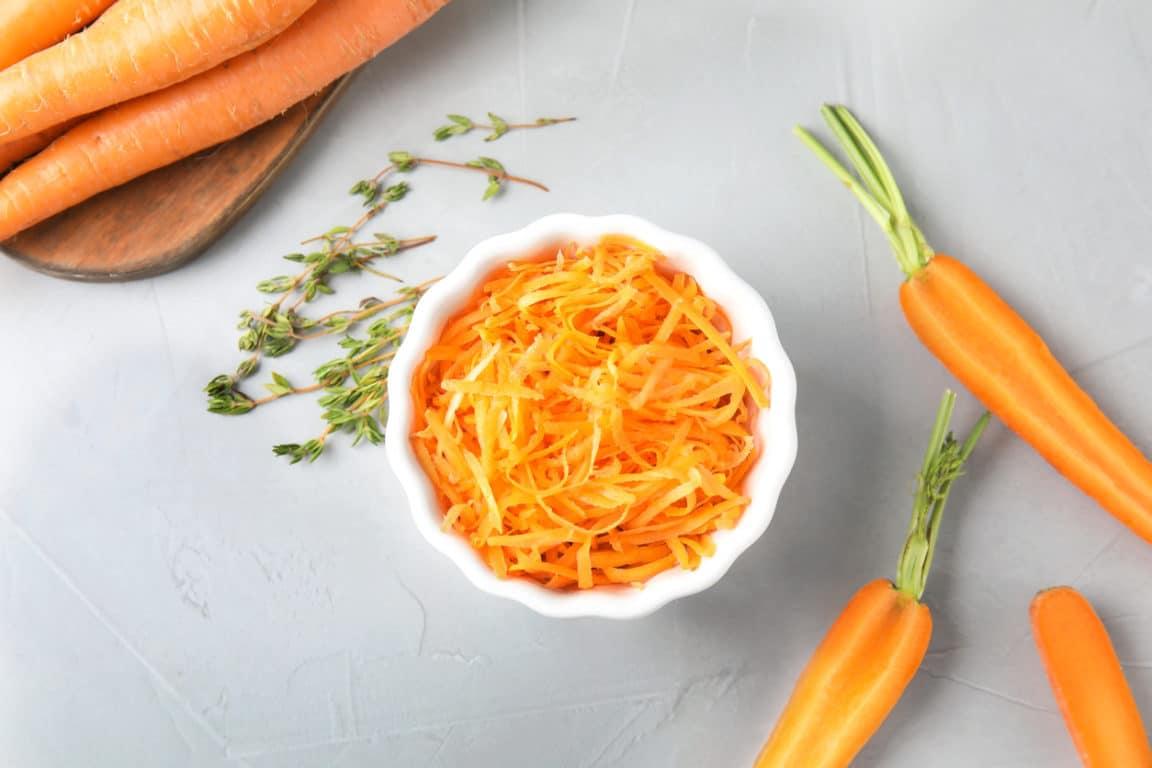 carottes râpées crudités maigrir régime