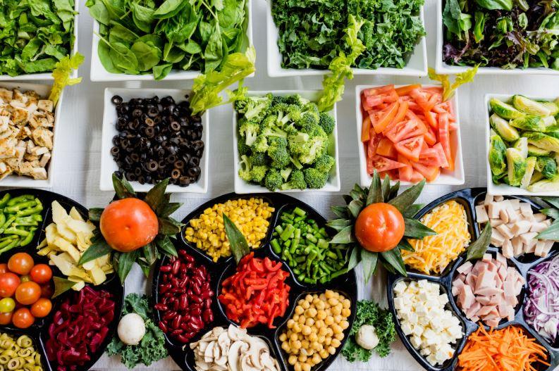 crudités régime légumes crus