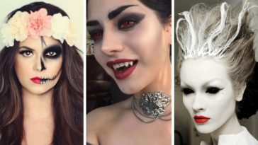 maquillage d'Halloween
