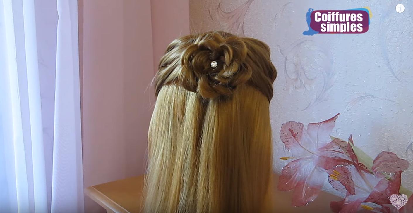 cheveux lâchés