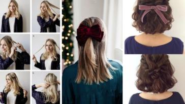 coiffures de fêtes