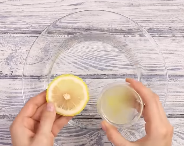 ongles jaunes citron brosser