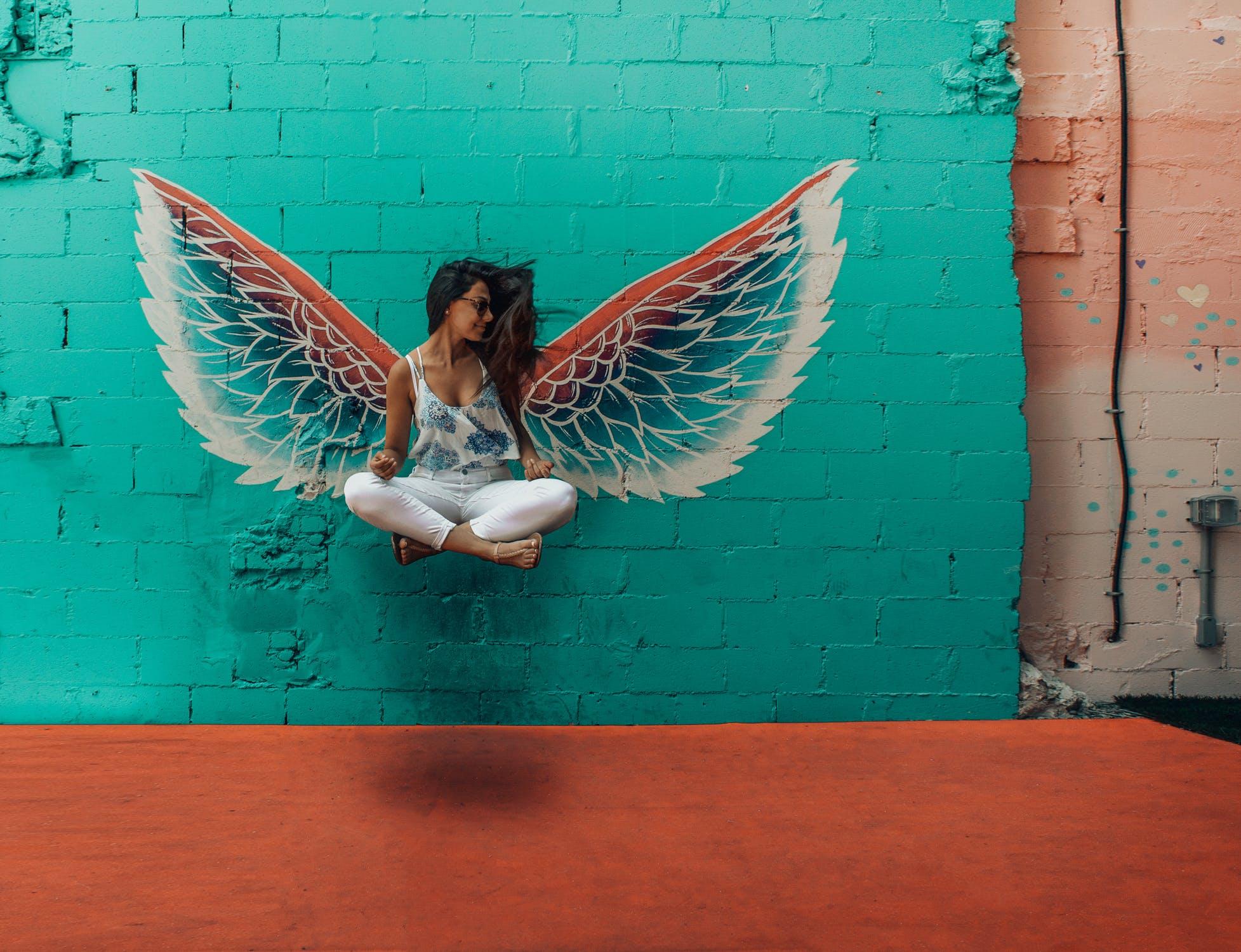 surnoms amoureux ange femme mur