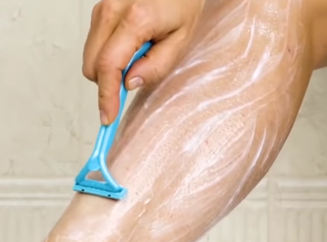 épilation des peaux sensibles rasoir