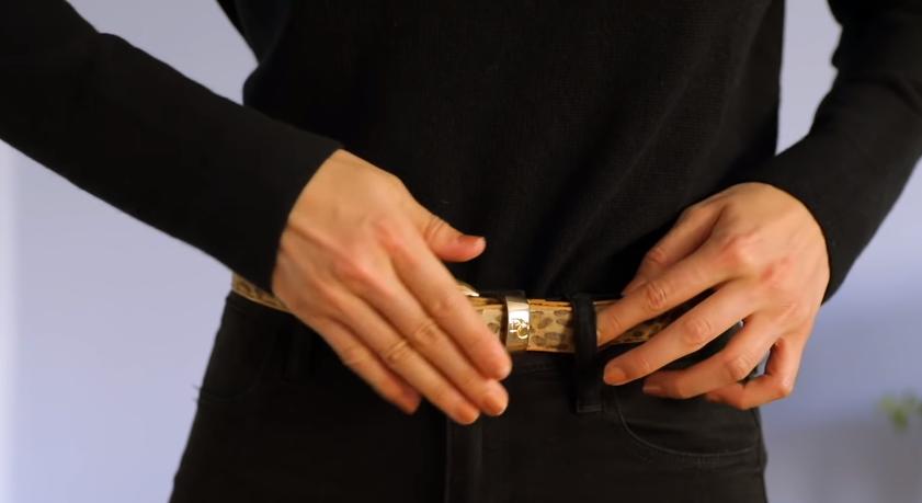 ceinture astuces mode et vêtements