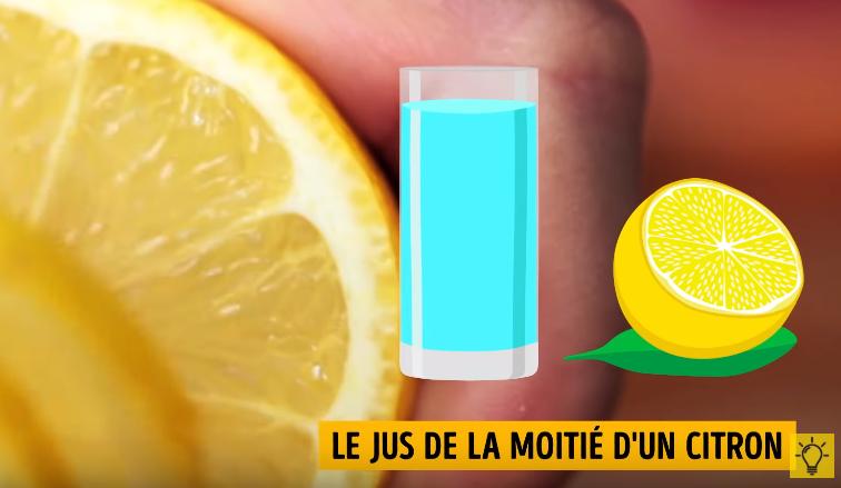 perdre du ventre sans exercice citron