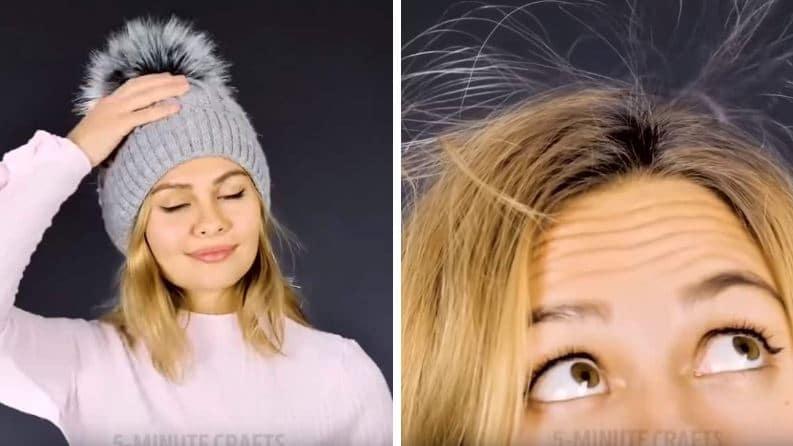 situations agaçantes cheveux électriques