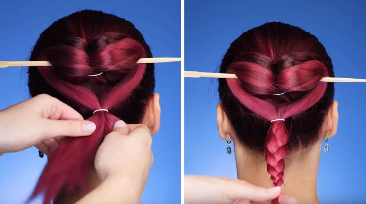 chignon astuces coiffures