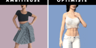 Couleurs de vêtements personnalité