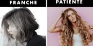 traits de caractères cheveux coupe