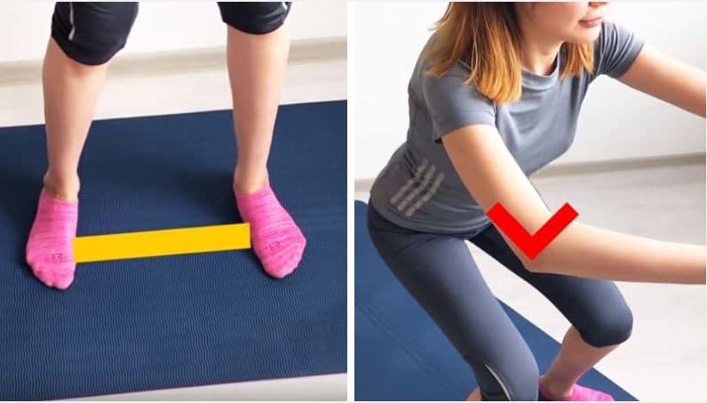 sport facile burpee squat et planche