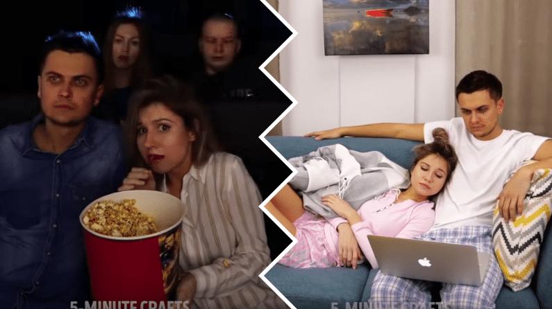 regarder des séries en couple