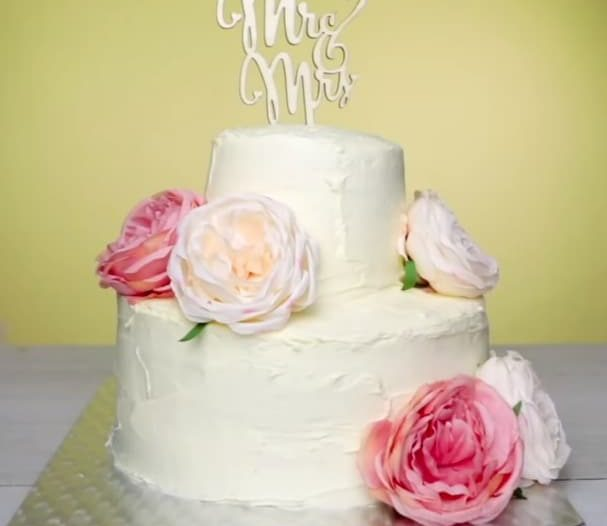 gâteau de mariage pièce montée DIY