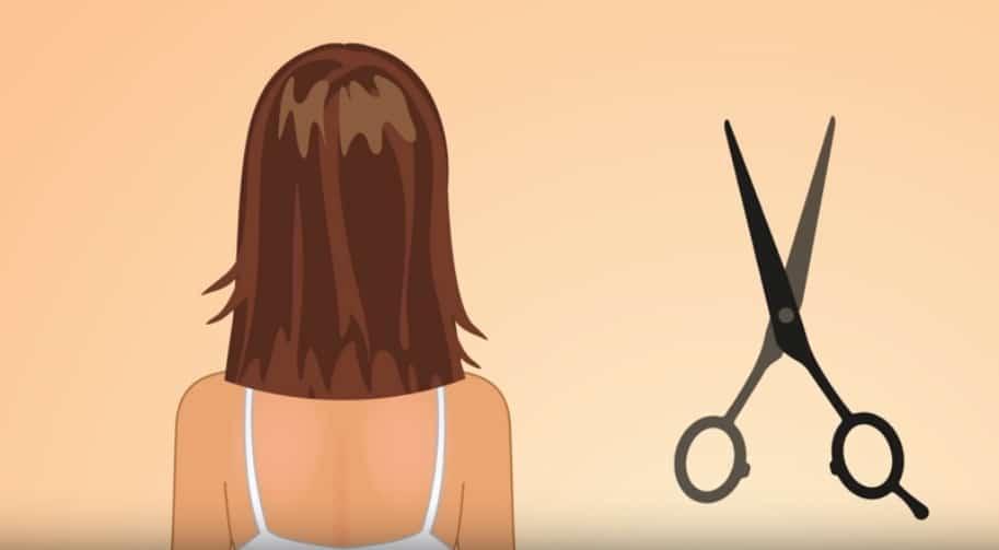 mythe sur les cheveux couper