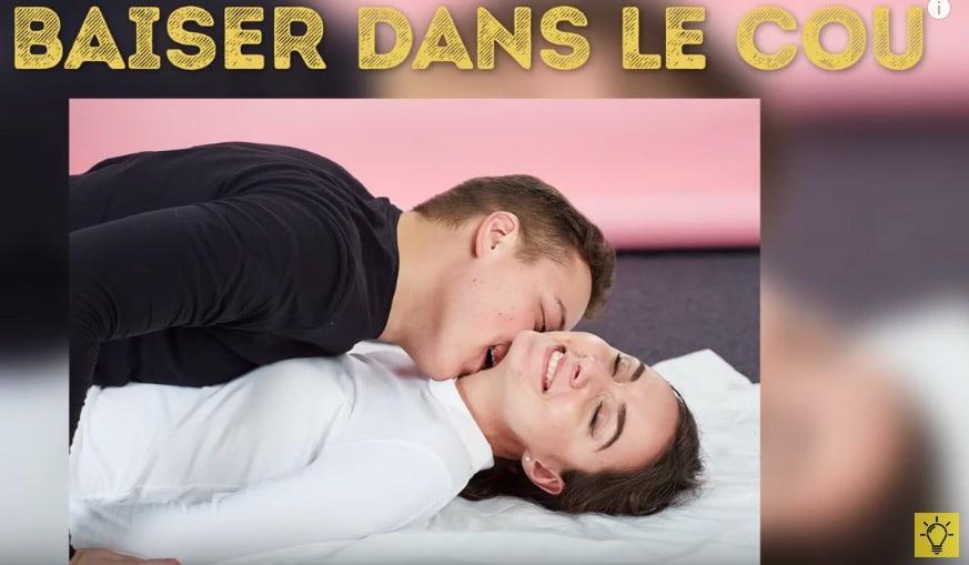 types de baisers dans le cou