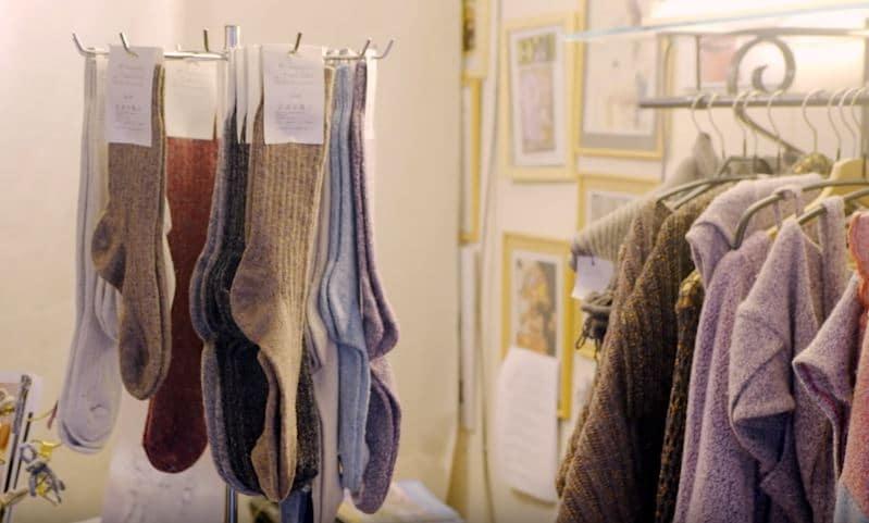 Chaussettes Orphelines boutique