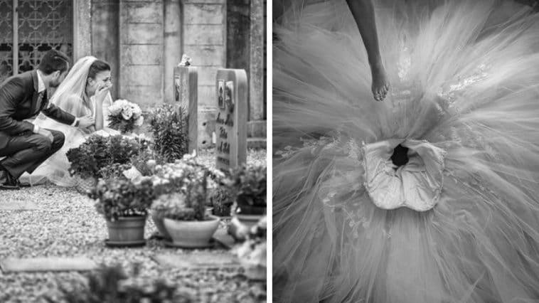 photo de mariage émouvante