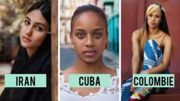 plus belles femmes du monde