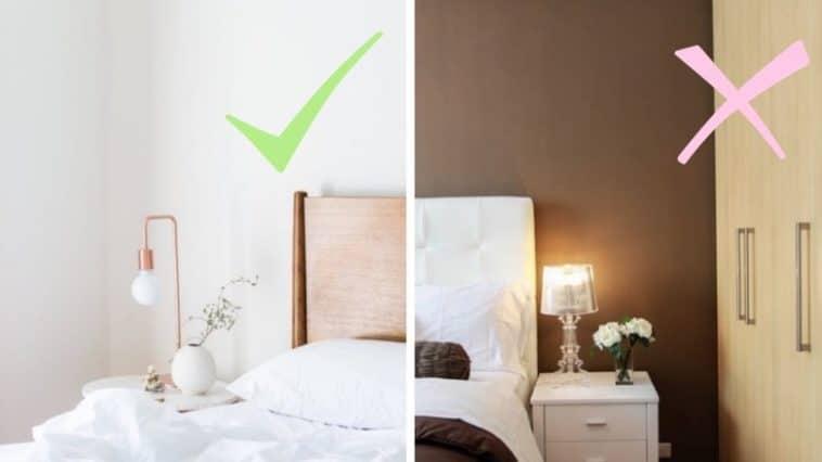 chambre feng shui mieux dormir astuces