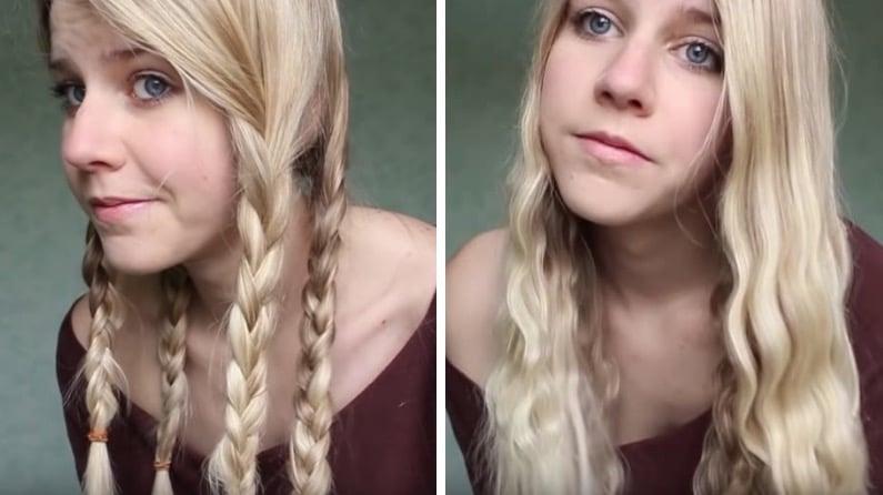 boucles naturelles sans chaleur ondulations cheveux
