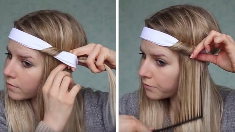 boucles sans chaleur bandeau headband