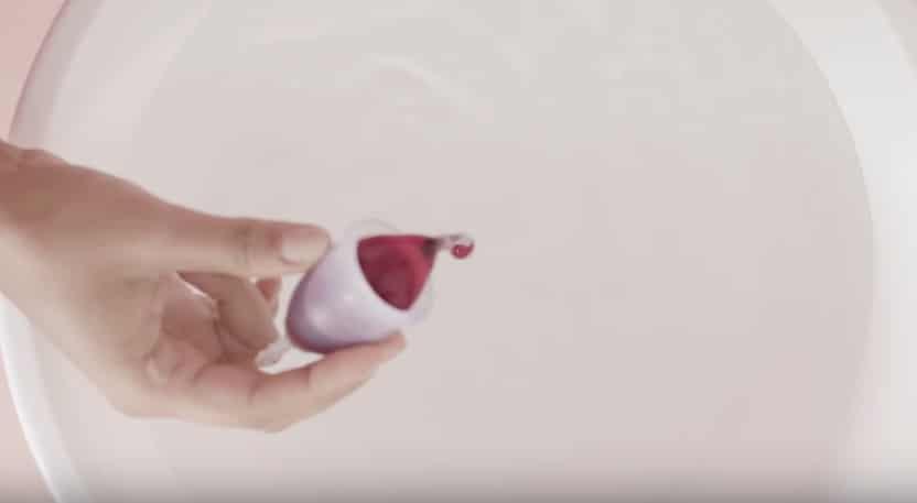 coupe menstruelle fuite cup sang
