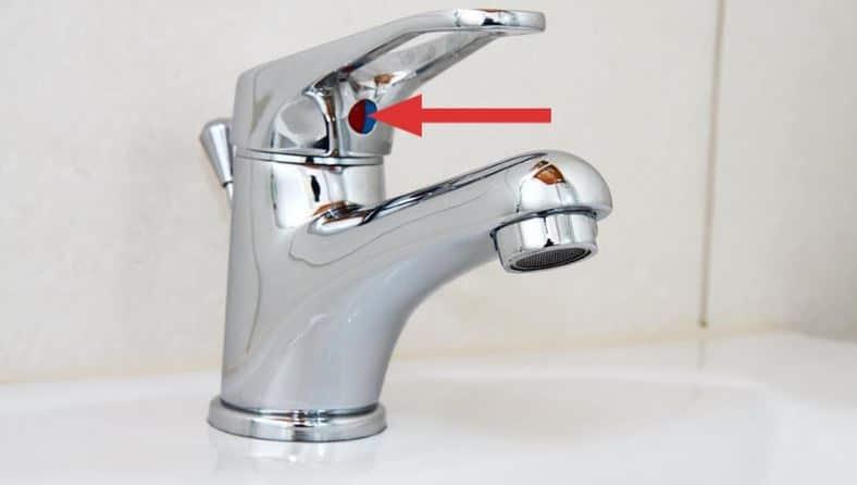 eau du robinet salle de bain