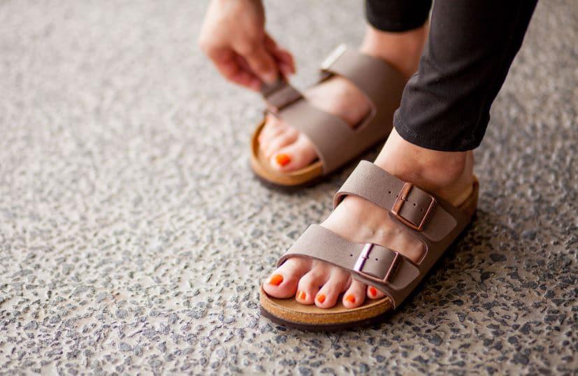 sandales de plage été mode sentir bon pieds