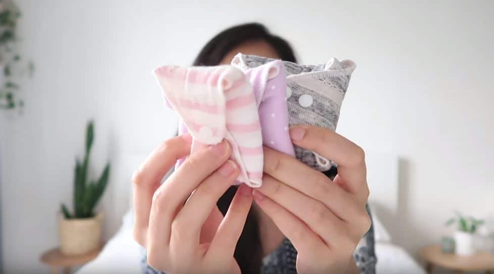 serviettes lavables réutilisables règles abondantes flux