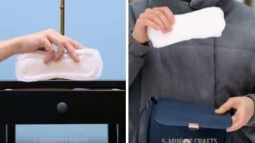astuces pour recycler ses serviettes hygiéniques
