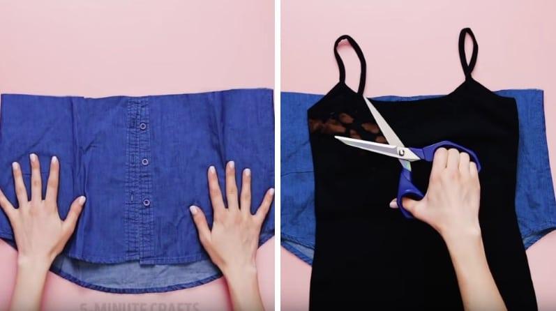 jupe de maternité en jean femme enceinte grossesse