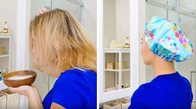 masque cheveux huile de coco aloe vera