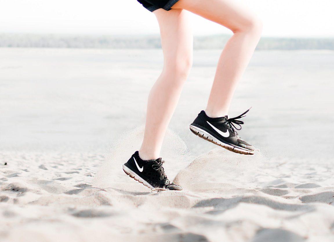 courir astuces course à pied plage