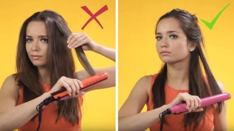 protéger ses cheveux du fer à lisser plaques