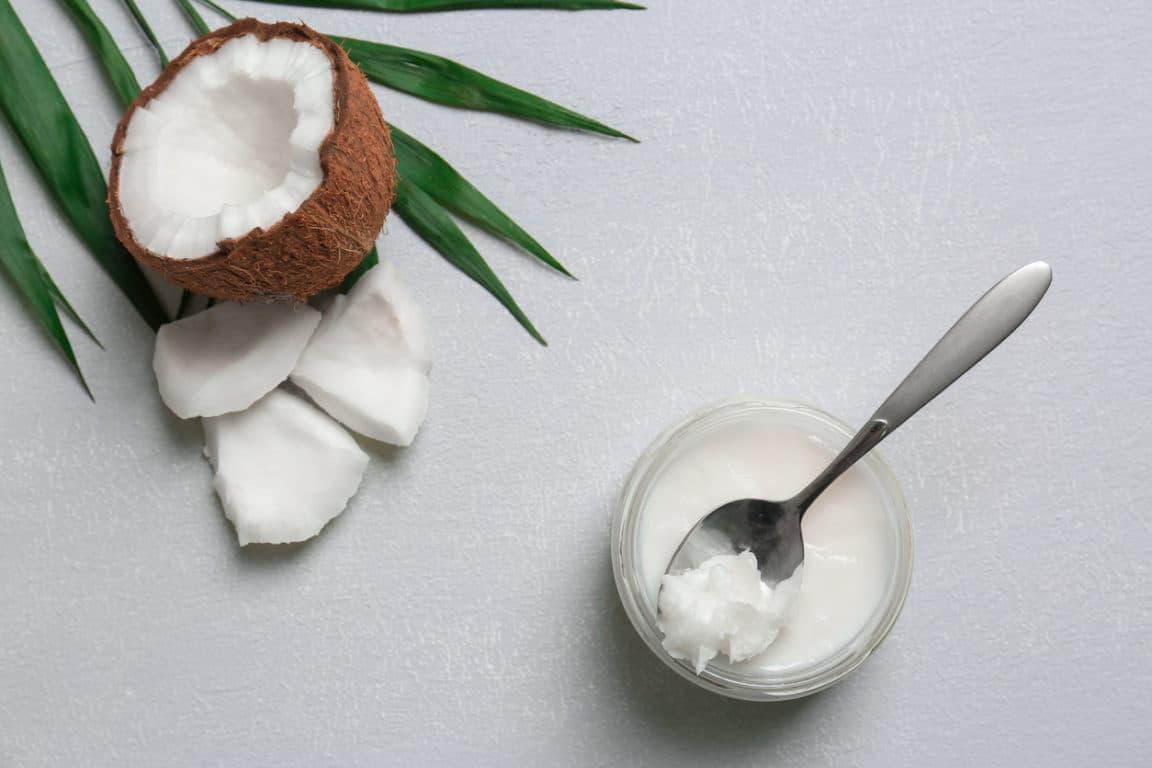 huile de coco creme hydratante soleil exposer