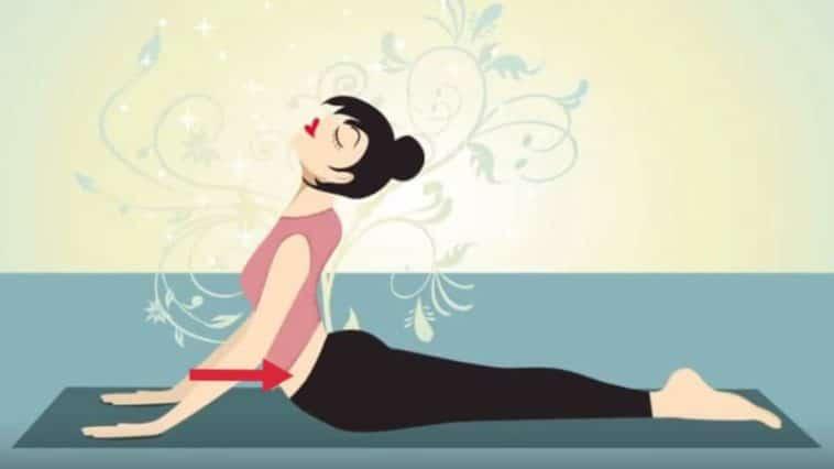 postures de yoga ventre plat