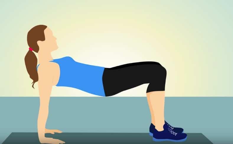 posture de yoga ventre plat