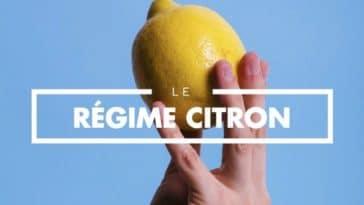 perdre du poids avec un citron