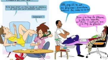 vie étudiante dessins fac