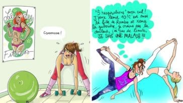 dessins sport humour filles illustrations margaux motin