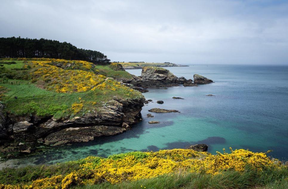 randonnées en couple copines belle ile en mer Bretagne