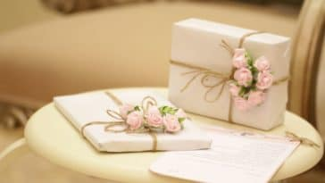 cadeaux de naissance ou mariage fleurs